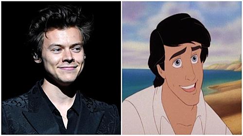 Harry Styles có thể trở thành hoàng tử của nàng tiên cá da màu