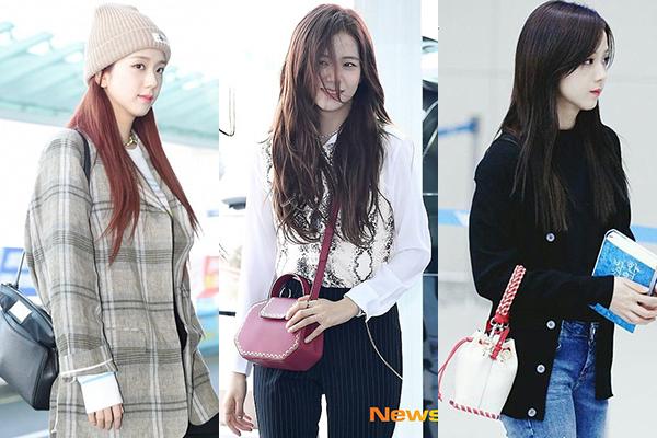 Túi của Ji Soo sử dụng thường có kích thước nhỏ nhắn vừa phải, hợp với phong cách ăn mặc cổ điển của cô nàng. Các fan ước tính, nữ idol đã chi khoảng 88.000 USD (khoảng 2 tỷ đồng) để sở hữu bộ sưu tập túi xách hiện tại.