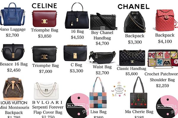 So với Jennie, Lisa không hề kém cạnh trong việc sắm sửa hàng hiệu. Bộ sưu tập túi của cô nàng cũng rất đồ sộ với hàng chục chiếc có giá trung bình từ 2.000 USD đến 4.000 USD. Trong đó, phần lớn là túi của Celine và thương hiệu vạn người mê Chanel.