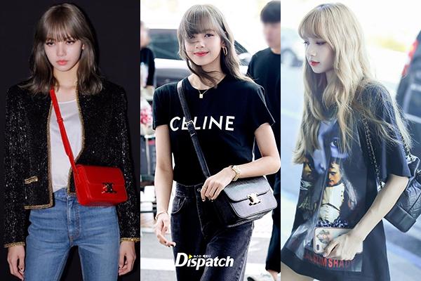 Gần đây, cô nàng được khen là thánh nữ Celine nhờ những lần diện đồ của thương hiệu này đẹp xuất sắc. Mỗi lần xuất hiện, Lisa đều gây ấn tượng với hàng hiệu từ đầu đến chân.