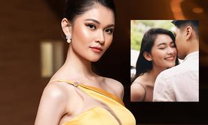 Á hậu Thùy Dung chạy show trong ngày kỷ niệm tình yêu