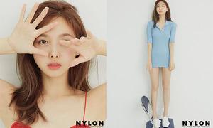 Na Yeon (Twice) gây tranh cãi vì diện mốt không quần trên tạp chí