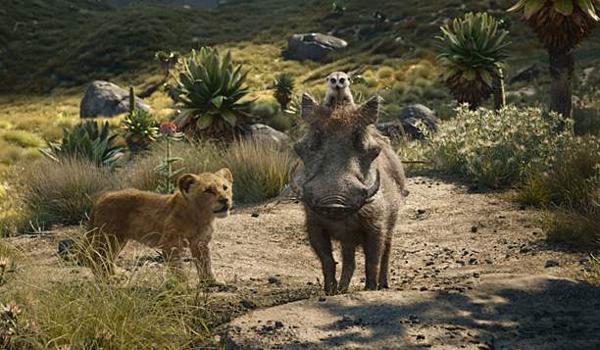 Nhân vật Timon và Pumbaa là trợ thủ đắc lực cho Simba.