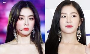 Khác biệt giữa hình fansite và hình báo chụp của các mỹ nhân Kpop