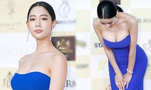 Nữ diễn viên Hàn khoe ngực phản cảm tại LHP Chunsa 2019