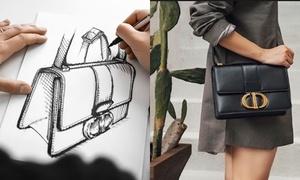 Các bước làm ra chiếc túi Dior 30 Montaigne cực công phu