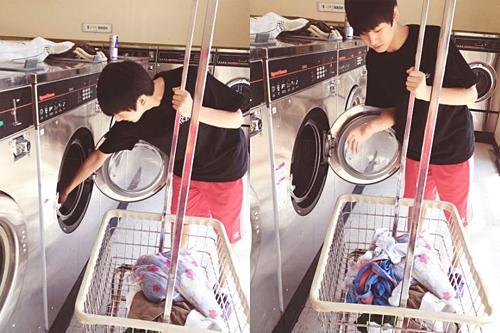 Mình học nhảy rất nhiều nên mình thường phải thay quần áo, vì vậy mình đến tiệm giặt ủi vài lần một tuần. Thật ra thì nó cũng hơi bị phiền phức đấy.