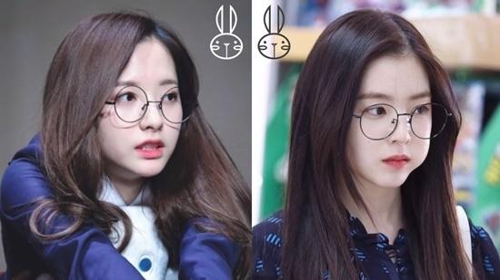 Bona (ảnh trái) có nhiều nét giống với Irene.