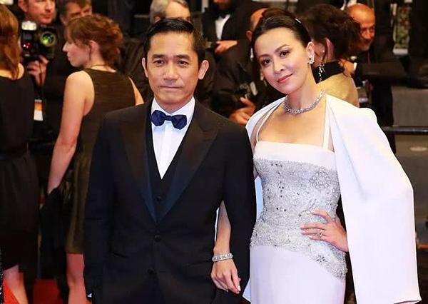 Vợ chồng Lương Triều Vỹ - Lưu Gia Linh.