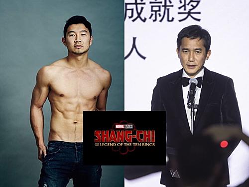 Simu Liu (trái) và Lương Triều Vỹ là hai nhân vật chính gốc Á đầu tiên của MCU.