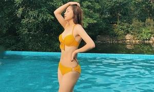 Bạn gái Quang Hải ngày càng gợi cảm