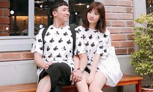 Trấn Thành - Hari Won mê diện đồ đôi nhí nhảnh 'cưa sừng'