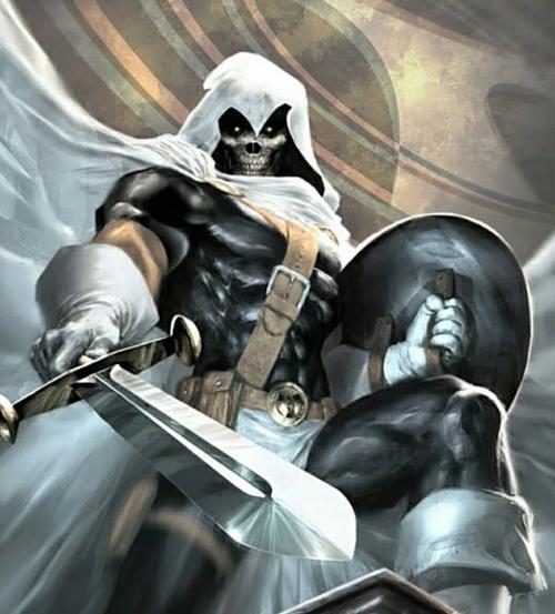 Nhân vật TASkmaster là đối thủ mạnh nhất của Black Widow.