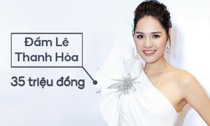 Hoa hậu Hương Giang tốn 165 triệu đồng một lần đi sự kiện