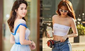 4 sao Việt ra phố cool ngầu, đi tiệc như búp bê