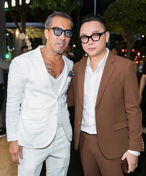 Fashionisto 70 tuổi Thuận Nguyễn và NTK Công Trí.