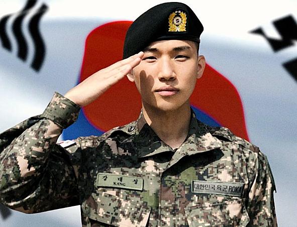 Dae Sung đang trong thời gian thực hiện nghĩa vụ quân sự.
