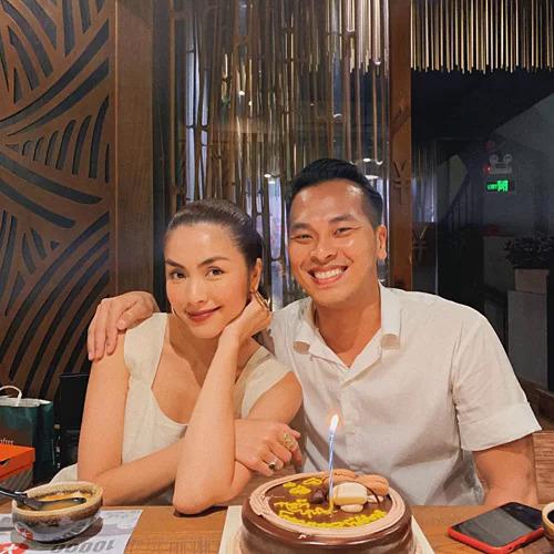 Tăng Thanh Hà mừng sinh nhật bạn thân.