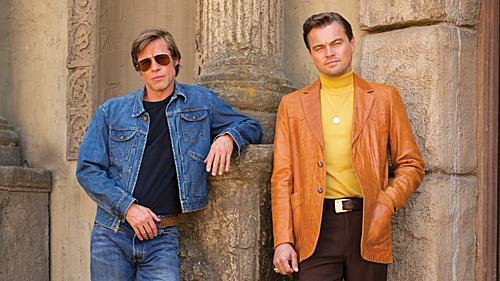 Brad Pitt (trái) và Leonardo DiCaprio.