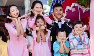 Em gái Hoa hậu Ngọc Diễm kết hôn ở tuổi 23