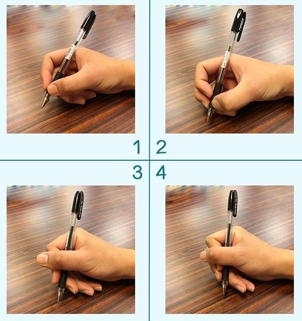 Trắc nghiệm: Đưa ra lời khuyên giúp bạn thành công qua tư thế cầm bút