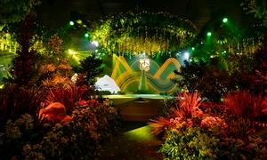 Không gian tiệc cưới ngập tràn sắc xanh của Cường Đô La - Đàm Thu Trang