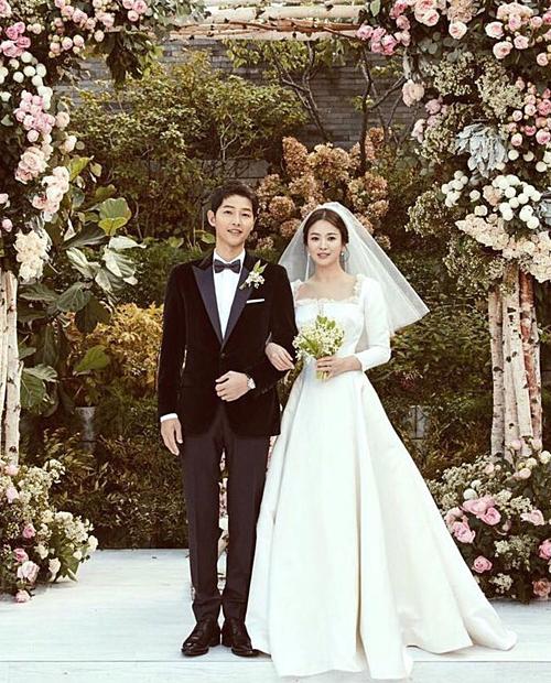 Ảnh cưới lung linh của Song Joong Ki - Song Hye Kyo.