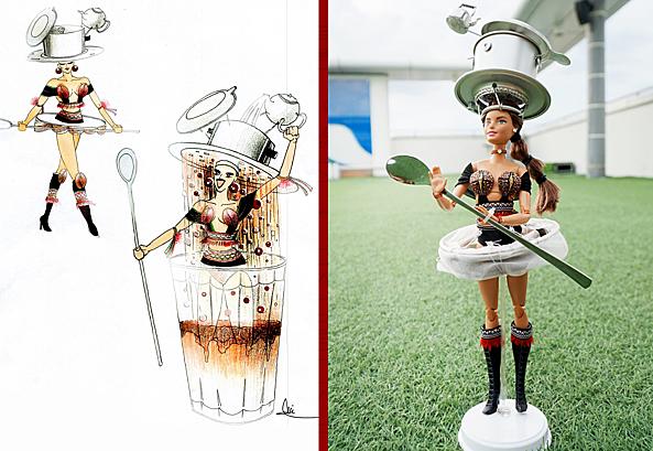 Thiết kế Cafe phin sữa đá.