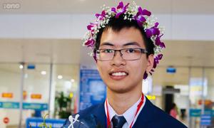 Nam sinh Thanh Hóa hai lần giành huy chương Olympic Hóa học quốc tế