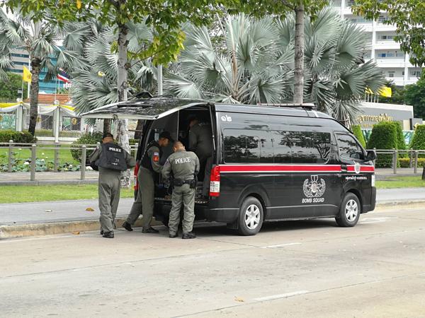 Hiện trường vụ nổ hàng loạt tại thủ đô Bangkok - 2