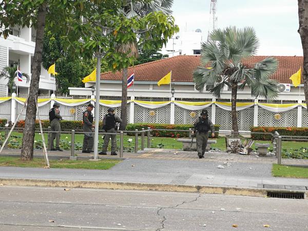 Hiện trường vụ nổ hàng loạt tại thủ đô Bangkok - 1