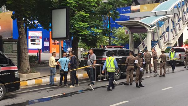 Hiện trường vụ nổ hàng loạt tại thủ đô Bangkok - 3