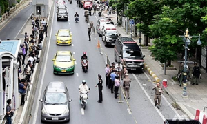 Nổ lớn tại thủ đô Bangkok, 4 người bị thương