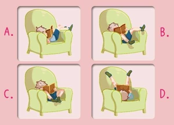 Trắc nghiệm: Hiện nguyên hình bạn là ai qua tư thế ngồi trên ghế