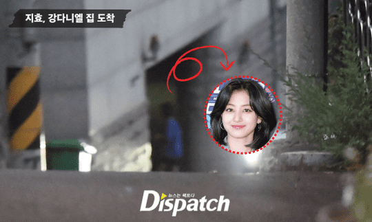 Ji Hyo thường xuyên ra vào nhà Daniel.