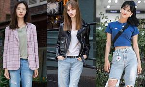 4 cách mix cực chất với boy friend jeans
