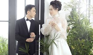 Đàm Thu Trang ngọt ngào bên Cường Đô La trong ảnh cưới