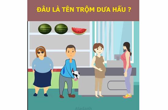 Ai đã ăn trộm quả dưa hấu?