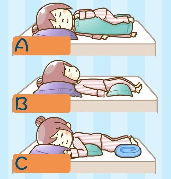 Trắc nghiệm: Biết rõ trạng thái cảm xúc hiện tại của bạn qua tư thế ngủ