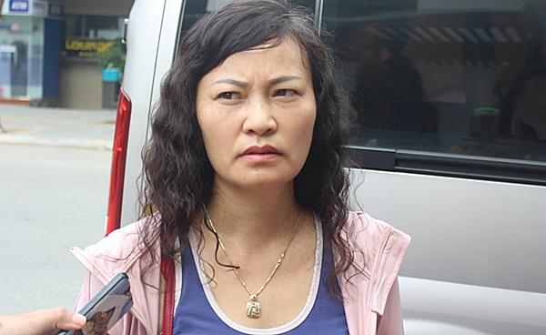 Chị Phạm Thị Liên.