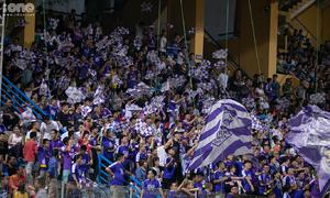 CĐV Hà Nội FC hào hứng với chiến thắng trước Bình Dương