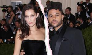 Bella Hadid và The Weeknd chia tay sau hơn một năm hàn gắn