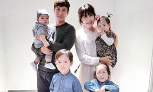 Thực hư tin Minh Hà sinh con thứ năm cho Lý Hải