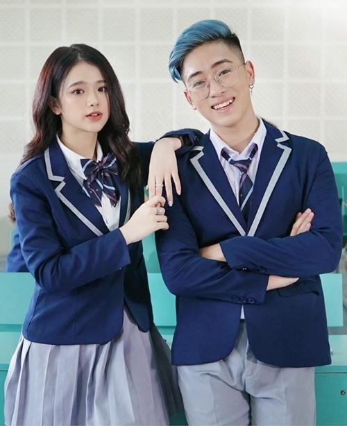 Linh Ka và Lê Bảo.