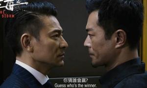 'Bão trắng 2' của Lưu Đức Hoa - Cổ Thiên Lạc tạo cơn sốt phòng vé