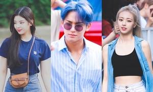 ITZY, Seventeen và loạt idol khoe visual trên đường đến Music Bank