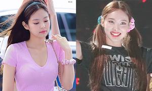 Chun buộc tóc vải 'thời thơ bé' thành hot trend với idol Hàn