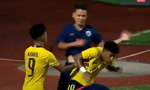 U15 Thái Lan và U15 Malaysia lao vào đánh nhau ở chung kết