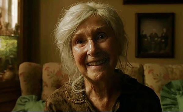 Joan Gregson tự cảm thấy kinh sợ bộ phim mình đóng.