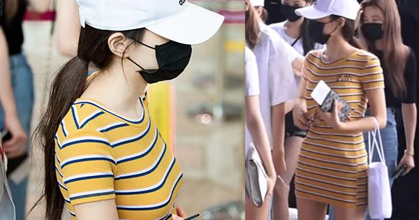 Tạo hình sân bay của Kang Hye Won được netizen khen ngợi.
